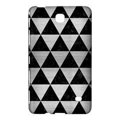 Triangle3 Black Marble & Silver Brushed Metal Samsung Galaxy Tab 4 (8 ) Hardshell Case