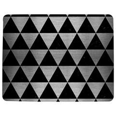 Triangle3 Black Marble & Silver Brushed Metal Jigsaw Puzzle Photo Stand (rectangular)