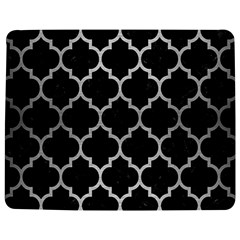 Tile1 Black Marble & Silver Brushed Metal Jigsaw Puzzle Photo Stand (rectangular)