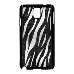 Skin3 Black Marble & Silver Brushed Metal Samsung Galaxy Note 3 Neo Hardshell Case (black)