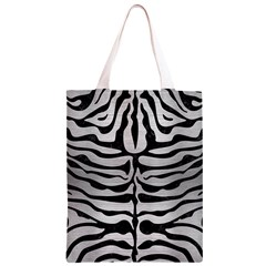 SKN2 BK MARBLE SILVER (R) Classic Light Tote Bag
