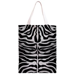 SKN2 BK MARBLE SILVER Classic Light Tote Bag