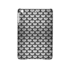 Scales3 Black Marble & Silver Brushed Metal (r) Apple Ipad Mini 2 Hardshell Case