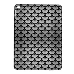 Scales3 Black Marble & Silver Brushed Metal (r) Apple Ipad Air 2 Hardshell Case