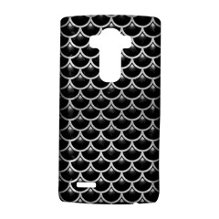 Scales3 Black Marble & Silver Brushed Metal Lg G4 Hardshell Case
