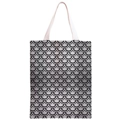 SCA2 BK MARBLE SILVER (R) Classic Light Tote Bag