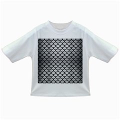Scales1 Black Marble & Silver Brushed Metal (r) Infant/toddler T Shirt