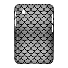 Scales1 Black Marble & Silver Brushed Metal (r) Samsung Galaxy Tab 2 (7 ) P3100 Hardshell Case