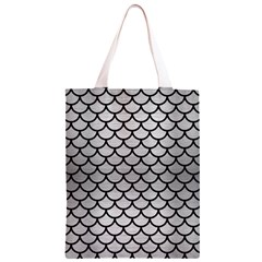 SCA1 BK MARBLE SILVER (R) Classic Light Tote Bag