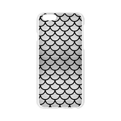 SCA1 BK MARBLE SILVER (R) Apple Seamless iPhone 6/6S Case (Transparent)