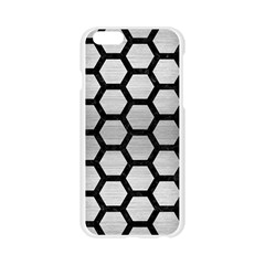HXG2 BK MARBLE SILVER (R) Apple Seamless iPhone 6/6S Case (Transparent)
