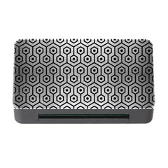Hexagon1 Black Marble & Silver Brushed Metal (r) Memory Card Reader With Cf