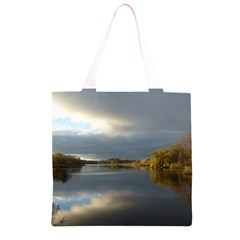 View   On The Lake Grocery Light Tote Bag