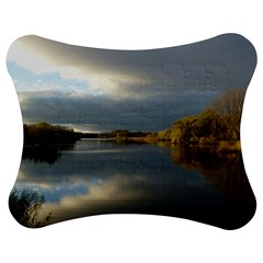 View   On The Lake Jigsaw Puzzle Photo Stand (bow)