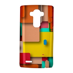 Rounded Rectangles LG G4 Hardshell Case