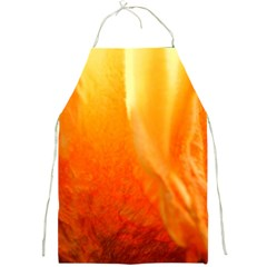 Floating Orange And Yellow Full Print Aprons