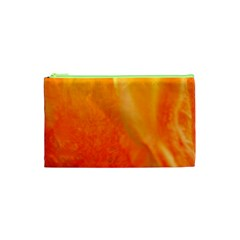 Floating Orange And Yellow Cosmetic Bag (xs)