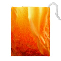 Floating Orange and Yellow Drawstring Pouches (XXL)