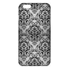 DMS1 BK MARBLE SILVER (R) iPhone 6 Plus/6S Plus TPU Case
