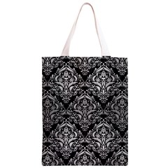 DMS1 BK MARBLE SILVER Classic Light Tote Bag
