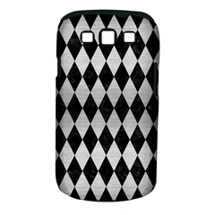Diamond1 Black Marble & Silver Brushed Metal Samsung Galaxy S Iii Classic Hardshell Case (pc+silicone)