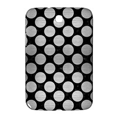 Circles2 Black Marble & Silver Brushed Metal Samsung Galaxy Note 8 0 N5100 Hardshell Case