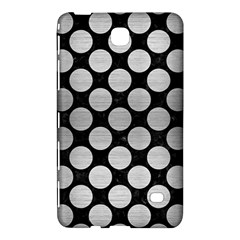 Circles2 Black Marble & Silver Brushed Metal Samsung Galaxy Tab 4 (7 ) Hardshell Case