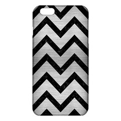 CHV9 BK MARBLE SILVER (R) iPhone 6 Plus/6S Plus TPU Case