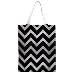 CHV9 BK MARBLE SILVER Classic Light Tote Bag