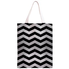 CHV3 BK MARBLE SILVER Classic Light Tote Bag