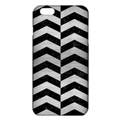 CHV2 BK MARBLE SILVER iPhone 6 Plus/6S Plus TPU Case