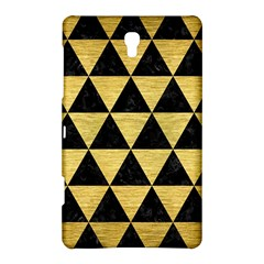 Triangle3 Black Marble & Gold Brushed Metal Samsung Galaxy Tab S (8 4 ) Hardshell Case