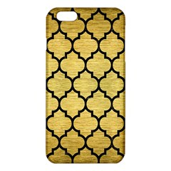 Tile1 Black Marble & Gold Brushed Metal (r) Iphone 6 Plus/6s Plus Tpu Case