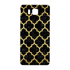 Tile1 Black Marble & Gold Brushed Metal Samsung Galaxy Alpha Hardshell Back Case