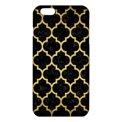 TIL1 BK MARBLE GOLD iPhone 6 Plus/6S Plus TPU Case