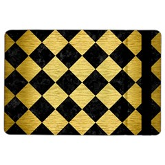Square2 Black Marble & Gold Brushed Metal Apple Ipad Air 2 Flip Case