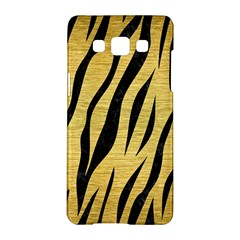 Skin3 Black Marble & Gold Brushed Metal (r) Samsung Galaxy A5 Hardshell Case
