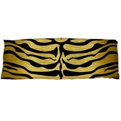 Skin2 Black Marble & Gold Brushed Metal (r) Body Pillow Case (dakimakura)