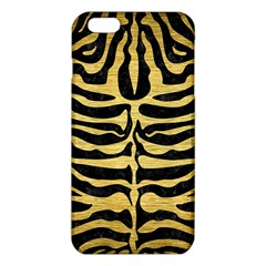 Skin2 Black Marble & Gold Brushed Metal Iphone 6 Plus/6s Plus Tpu Case