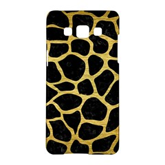 Skin1 Black Marble & Gold Brushed Metal (r) Samsung Galaxy A5 Hardshell Case