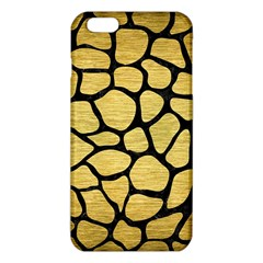 SKN1 BK MARBLE GOLD iPhone 6 Plus/6S Plus TPU Case