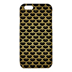 SCA3 BK MARBLE GOLD iPhone 6/6S TPU Case