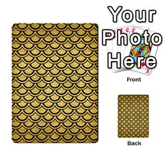 Scales2 Black Marble & Gold Brushed Metal (r) Multi Purpose Cards (rectangle)