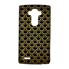 Scales2 Black Marble & Gold Brushed Metal Lg G4 Hardshell Case
