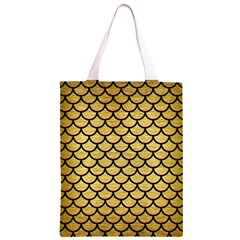 SCA1 BK MARBLE GOLD (R) Classic Light Tote Bag