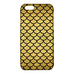 SCA1 BK MARBLE GOLD (R) iPhone 6/6S TPU Case