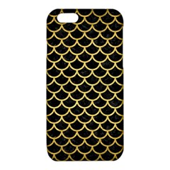 SCA1 BK MARBLE GOLD iPhone 6/6S TPU Case