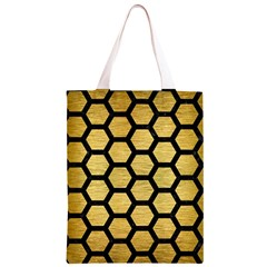 HXG2 BK MARBLE GOLD (R) Classic Light Tote Bag