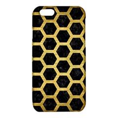 HXG2 BK MARBLE GOLD iPhone 6/6S TPU Case