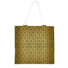 HXG1 BK MARBLE GOLD (R) Grocery Light Tote Bag
